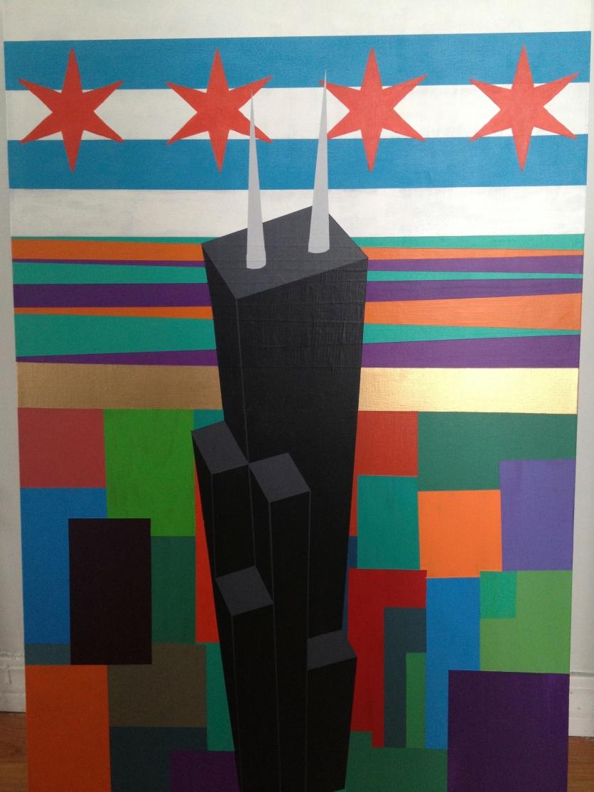 Acrylic on Canvas 2013